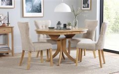 Circular Extending Dining Tables And Chairs