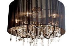Black Chandeliers with Shades