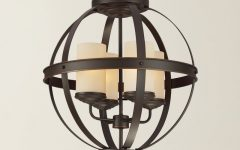 Donna 4-light Globe Chandeliers