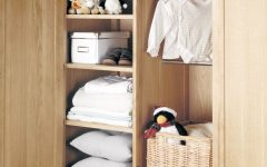 Double Rail Childrens Wardrobes