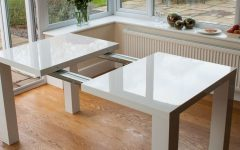 Extending Gloss Dining Tables