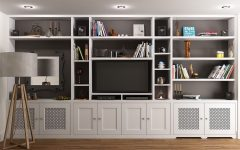 Tv Cabinet and Bookcases