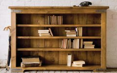 Wooden Bookshelves