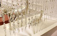 Faux Crystal Chandelier Wedding Bead Strands