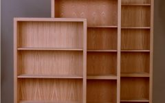Contemporary Oak Bookcases