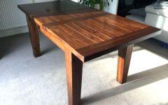 Dark Wood Extending Dining Tables