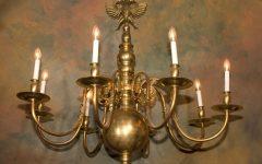 Flemish Brass Chandeliers