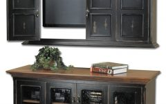 Wall Mounted Tv Cabinets for Flat Screens with Doors
