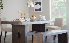 Natural Wood & Recycled Elm 87 Inch Dining Tables