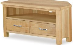 Light Oak Tv Corner Units