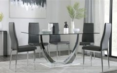 Chrome Dining Tables and Chairs