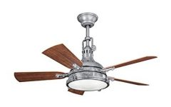 Outdoor Ceiling Fans with Galvanized Blades