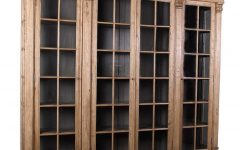 Glass Front Bookcases