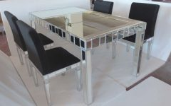 Mirror Glass Dining Tables