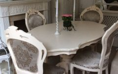 Shabby Chic Cream Dining Tables and Chairs