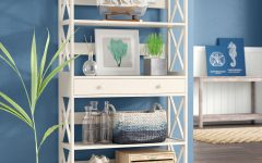 Gracelynn 5 Tier Etagere Bookcases