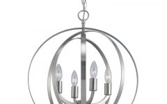 Hendry 4-Light Globe Chandeliers