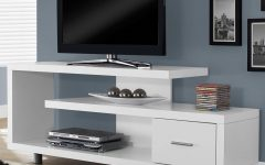 White Contemporary Tv Stands
