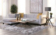 Avery 2 Piece Sectionals with Raf Armless Chaise
