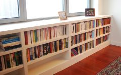 Under Window Bookcases