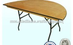 Oval Folding Dining Tables