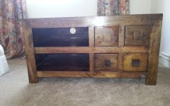 Chunky Wood Tv Units