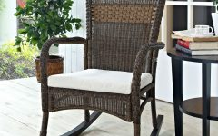 Indoor Wicker Rocking Chairs