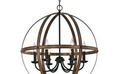 Joon 6-light Globe Chandeliers