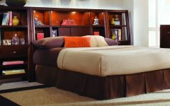 King Size Bookcases Headboard