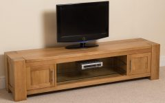 Oak Widescreen Tv Units