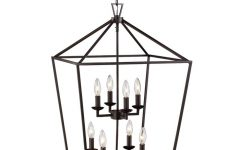 Carmen 8-Light Lantern Geometric Pendants