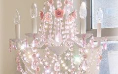 Crystal Chandeliers For Baby Girl Room