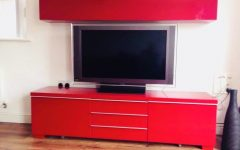 Red Gloss Tv Stands