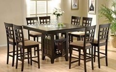 Rocco 8 Piece Extension Counter Sets