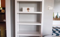 Target White Bookcases