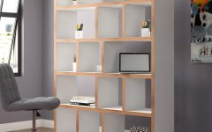 Varga 5 Level Geometric Bookcases