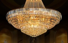 Big Crystal Chandelier
