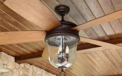 Outdoor Ceiling Fans With Lantern Light