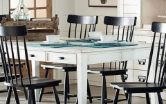 Magnolia Home White Keeping 96 Inch Dining Tables