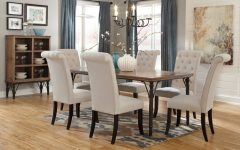 Market 6 Piece Dining Sets with Side Chairs