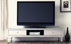 Loren Mirrored Wide Tv Unit Stands