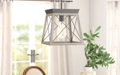Delon 1-light Lantern Geometric Pendants