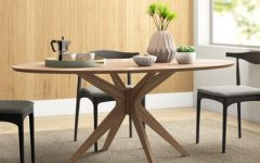 Rhiannon Poplar Solid Wood Dining Tables