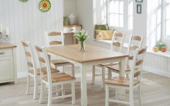 Cream Dining Tables and Chairs