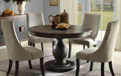 Pedestal Dining Tables And Chairs