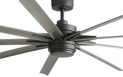 Grey Outdoor Ceiling Fans