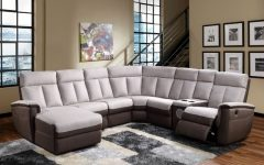 Sectional Sofas with Electric Recliners