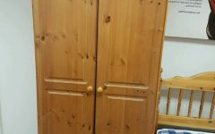 Double Pine Wardrobes