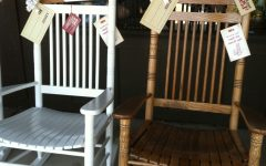 Rocking Chairs at Cracker Barrel