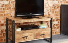 Industrial Metal Tv Stands
